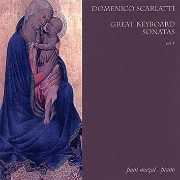Domenico Scarlatti / Great Keyboard Sonatas Vol. 1