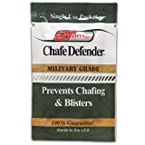 2Toms Chafe Defender (Towelettes) - Military Grade 24 Hour Chafing & Blister Protection - Waterproof & Sweatproof (10 Count - Towelettes)