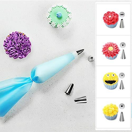 Kit para Hornear Pasteles, Juego para Hornear Pasteles, Kit para Decorar Pasteles, para Amigos, Familia, hogar, pastelería