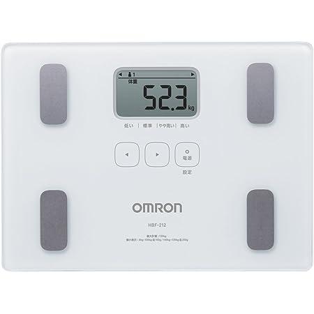 オムロン 体重・体組成計 カラダスキャン ホワイト HBF-212
