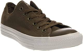 Converse Chuck Taylor All Stars OX Shoes (10 B(M) US Women / 8 D(M) US Men, Plus Surplus Green White)
