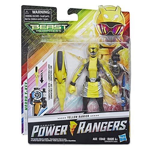 Power Rangers Beast Morphers Vargoyle Figura de acción de 6 Pulgadas Inspirada en el Programa de televisión Power Rangers