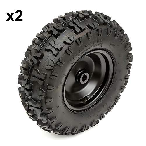 2x Completo 13 Inch Trasero Rueda y Neumático 13x5.00-6 Midi Moto Eléctrico Cuatrimoto Atv