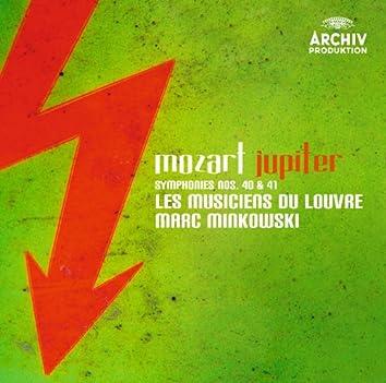 モーツァルト:交響曲第40番、第41番《ジュピター》、他