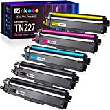 E-Z Ink (TM) with Chip Compatible Toner Cartridge Replacement for Brother TN227 TN-227 TN227bk TN223 TN-223 use with MFC-L3770CDW MFC-L3750CDW HL-L3230CDW HL-L3290CDW HL-L3210CW MFC-L3710CW (5 Pack)