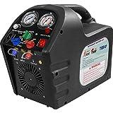 XtremepowerUS 1/2HP Portable Refrigerant Recovery Machine 115V AC Refrigerant Recycling HVAC Refrigerant Air Condition w/Shoulder Strap
