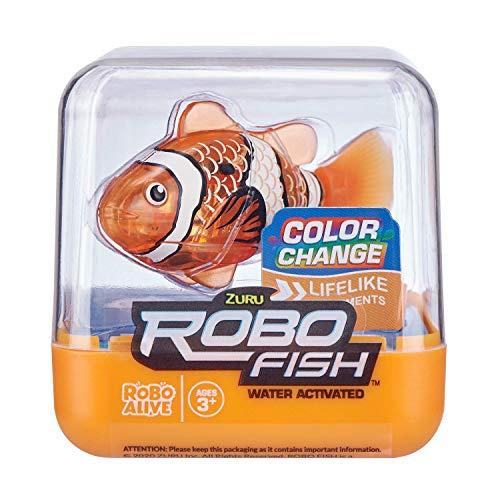 ZURU ROBO ALIVE Fish-SERIES1 2PK(Teal+Orange) (7141A-S001)