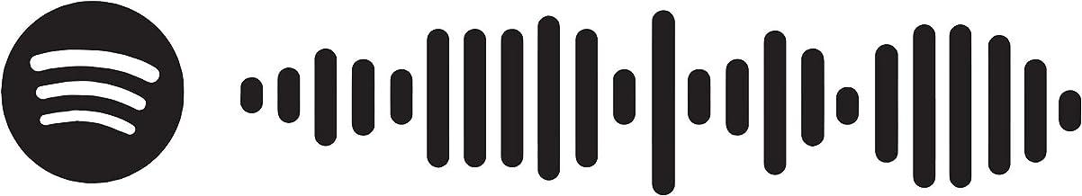 Aangepaste Spotify Wall Vinyl Sticker - Gepersonaliseerde Songcode Home Interieur Kamer Art Decal - Waterdichte Decoratie ...