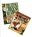 Children Story Book Set (2 Pack): The Stinky Cheese Man and Other Fairly Stupid Tales - The True Story of the Three Little Pigs