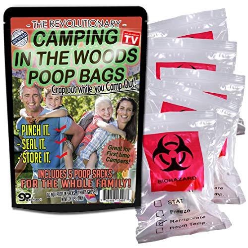 Camping in The Woods Poop Bags