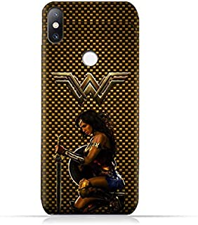 Xiaomi Mi Mix 2S TPU Soft Protective Silicone Case with Wonder Woman Design