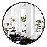 Espejos Decorativos de Pared, Espejos Grandes de Pared Vintage - 80cm, Negro