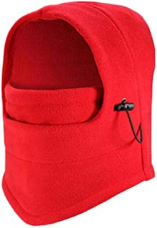 Men Womens Durable Balaclava Hats Wind-Resistant Keep Warm Cycling Skiing Fishing Fleece Cap