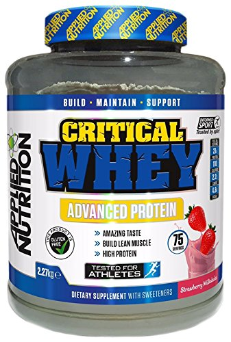 Critical Whey Protein Shake, Strawberry