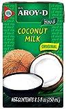 Aroy-D 100 Milk 8.5 Oz , Coconut, 1 Count, (Pack of 6) (Ven_FD39-193)