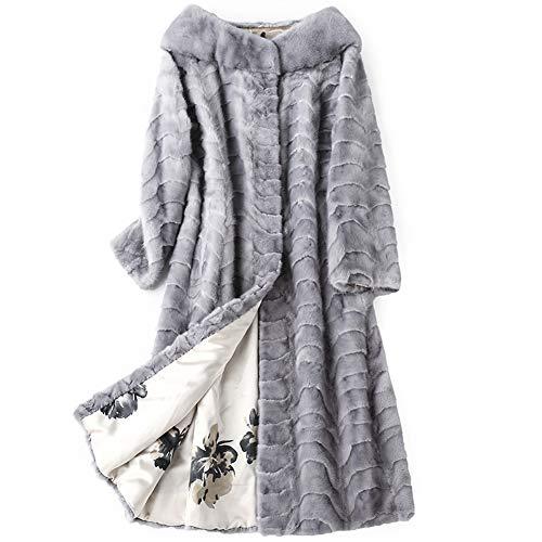 DGSFES Cappotti Inverno Popolare Donna Teddy Fleece Morbido Caldo Manica Lunga Pullover Camicetta Cappotto Aperto Giacca Cappotto Lungo Capispalla Giacca Maglione Casual-XL