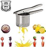Hand Press Lemon Orange Potato Apple Watermelon Squeezer Stainless Steel Juicer High-capacity Easily Fruit Vegetables Manual Extractor