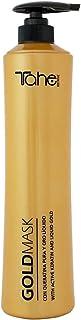 Tahe Mascarilla Gold con Keratina Pura y Oro Líquido, 800 ml