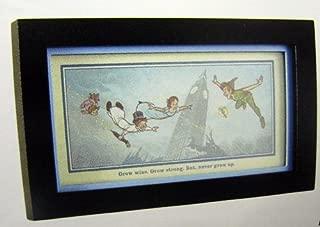 Hallmark Disney DYG9732 Never Grow Up - Peter Pan Framed Print