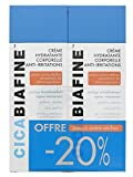 CicaBiafine Crème Hydratante Corporelle Anti-Irritations Lot de 2 x 200 ml
