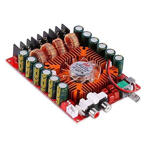 Dpofirs DC15-36V 2 x 160W Tablero de Amplificador Digital de Audio Alta Fidelidad, Doble Canales DIY Módulo de Amplificador Estéreo Admite el Modo BTL, Adecuado para Altavoces de 4/6/8 Ohmios