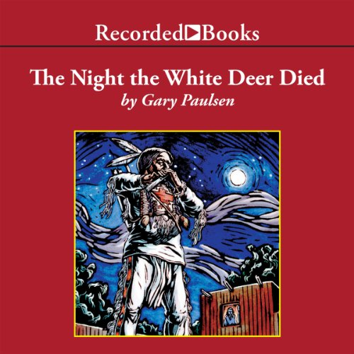 The Night the White Deer Died audiobook cover art
