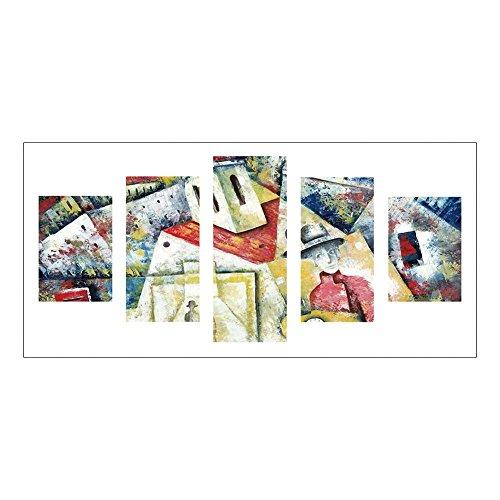 Awakingdemi Dreamy House 5D DIY Kit de combinação de 5 imagens de pintura de diamante com furadeira completa