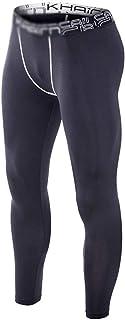 LUKEEXIN Men's Compression Baselayer Pants Sports Pants Cool Dry Leggings