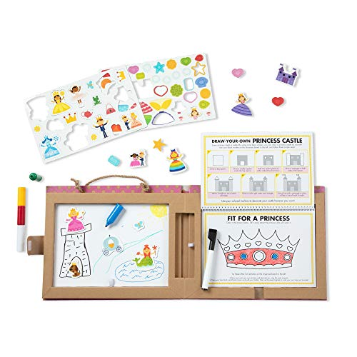 Melissa & Doug Natural Play: Play, Draw, Create – Princesses