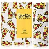 HappyNaps® Tovaglioli in Tessuto #Pizza Tovaglioli in Tessuto 100% Cotone (45x45cm) [Set da 10] Tovaglioli in Tessuto di Cotone colorato Lavabile Fino a 30°C | 100% Senza plastica