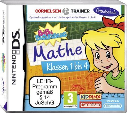 Bibi Blocksberg: Grundschule Mathe Klassen 1 - 4 - [Nintendo DS]