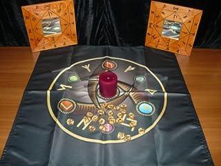 Wicca ołtar tkanina oko Woden