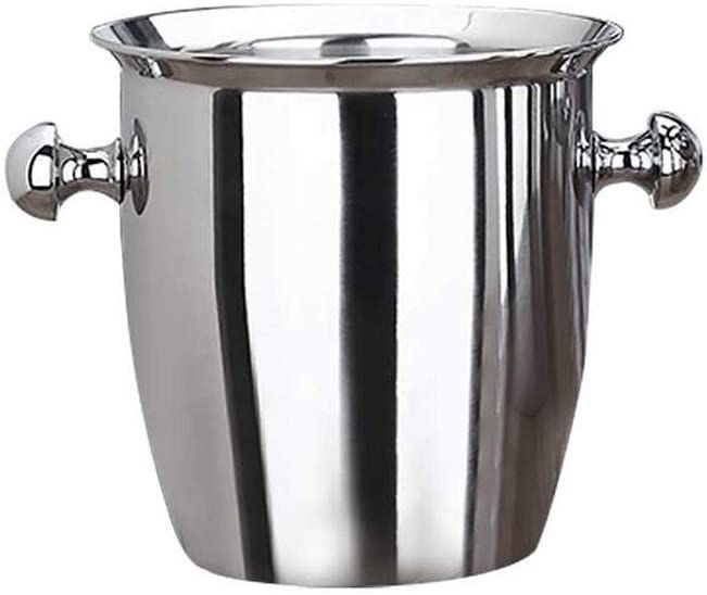 WJCCY Silver Ice Bucket Stainless Max 47% OFF Wine Steel Red Thickened Super beauty product restock quality top