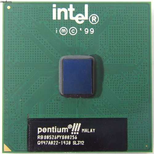 Pentium 3 SL3Y2: 800 MHz 133 MHz 256KB FC-PGA
