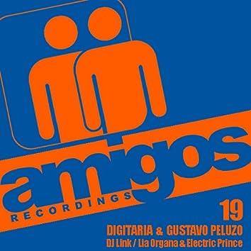 Amigos 019 Digitaria & Gustavo Peluzo