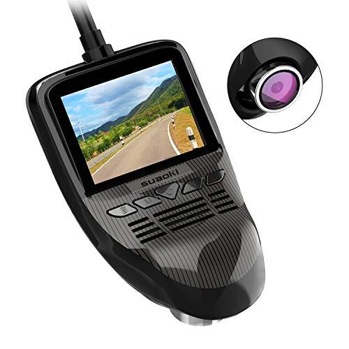 SUAOKI Auto Kamera, 1080P Full HD WiFi Dash Cam Car Camera mit 170° Weitwinkelobjektiv, WDR, Bewegungserkennung, Parkmonitor, Loop-Aufnahme, Nachtsicht und G-Sensor DVR