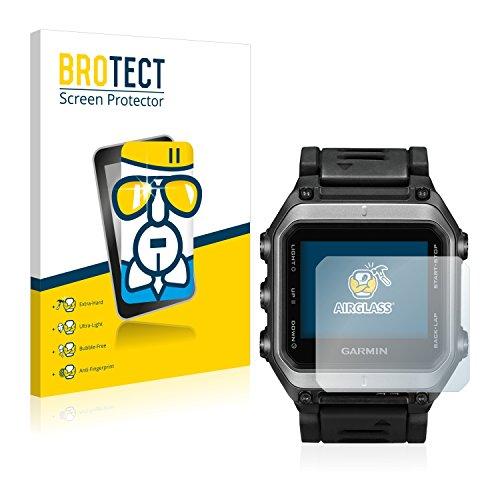 BROTECT Protector Pantalla Cristal Compatible con Garmin epix Protector Pantalla Vidrio - Dureza Extrema, Anti-Huellas, AirGlass