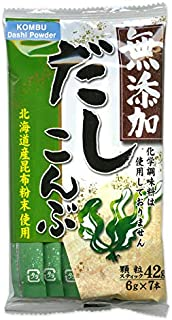 Kombu Dashi Powder with No MSG (Vegetarian Soup Stock) [English instructions on the back] 1.48 oz (6 gram x 7 packets)