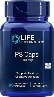 Life Extension Phosphatidylserine 100 mg, 100 Vegetarian Capsules