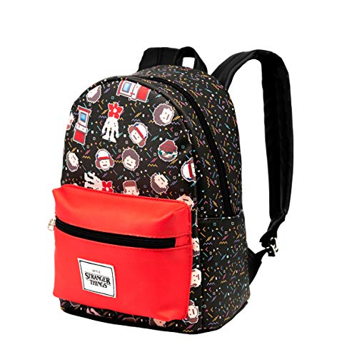KARACTERMANIA Stranger Things 8 bits-Mochila Fashion, Multicolor
