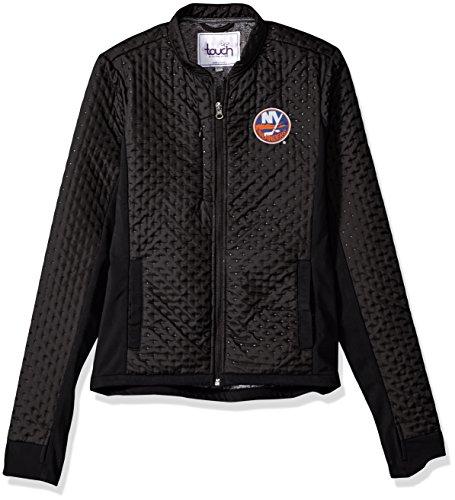 Touch by Alyssa Milano Adult Women NHL New York Islanders, Large, Black