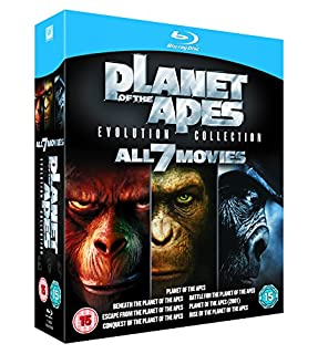 Planet of the Apes: Evolution Collection [Blu-ray] [1968] (B005SQMJGE) | Amazon price tracker / tracking, Amazon price history charts, Amazon price watches, Amazon price drop alerts