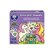 Orchard Toys 366 Unicorn Jewels Mini Game, Multi