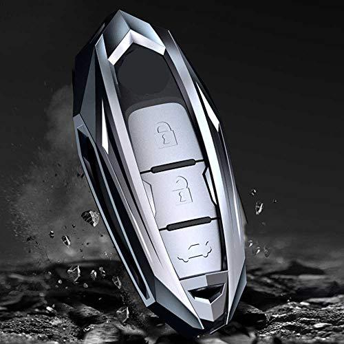 NIUASH Cubierta de la Caja de la Llave del Coche, para Nissan Rogue XTrail T32 T31 Qashqai J11 J10 Tiida Pathfinder Murano Juke Versa Infiniti
