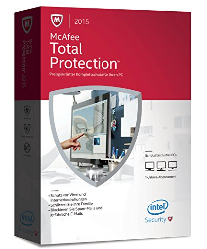 McAfee Total Protection 2015 Upgrade - 3 PCs [import allemand]