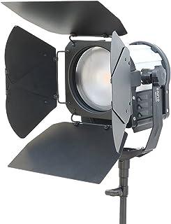 CAMTREE Professional Photography Sun 6 Fresnel Spot Flood Studio Video Led Light | Barn Doors | AC Adapters (C-SUN6-1)