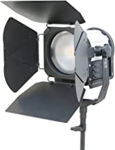 CAMTREE Professional Photography Sun 6 Fresnel Spot Flood Studio Video Led Light | Barn Doors | AC Adapters (C-SUN6-1)