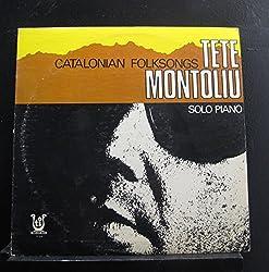 Tete Montoliu - Catalonian Folksongs - Lp Vinyl Record