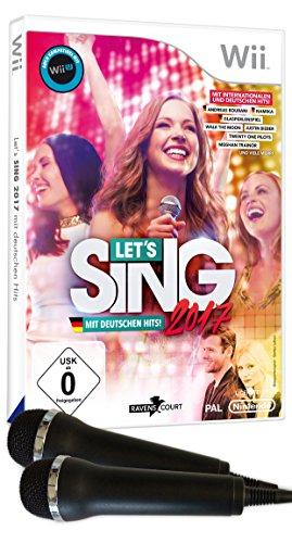 Let's Sing 2017 Inkl. Deutschen Hits (+2 Mics)
