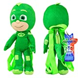 Disney 14' PJ Masks Stuffed Animals Backpack Plush Doll 1Pc Green Color NEW